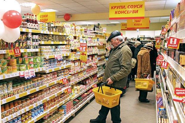 Антимонопольний комітет оштрафував найбільші супермаркети на 200 мільйонів гривень