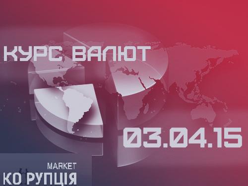 КУРС ВАЛЮТ НА 03.04