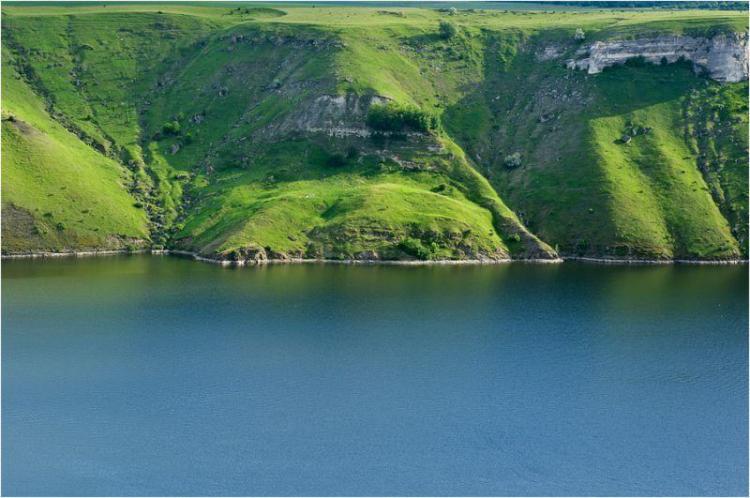 Бакотська затока біля Кам'янця-Подільського Хмельницької області
