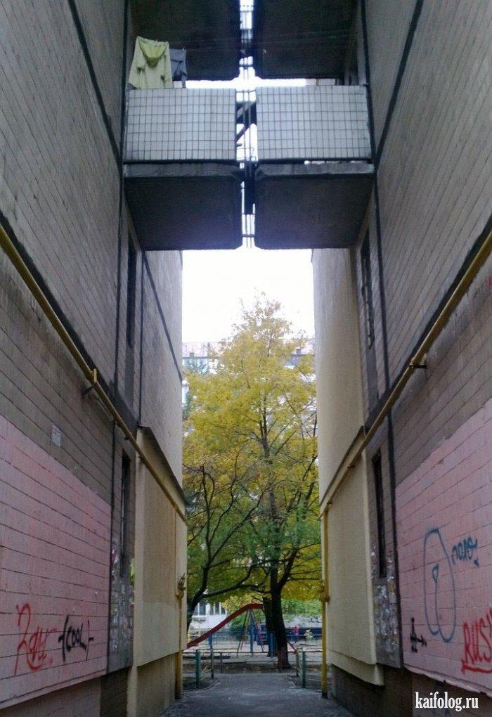 15 эпичных балконов, которые сразят наповал своим дизайном и.