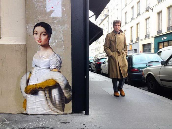 Класичні картини на вулицях міст (ФОТО)
