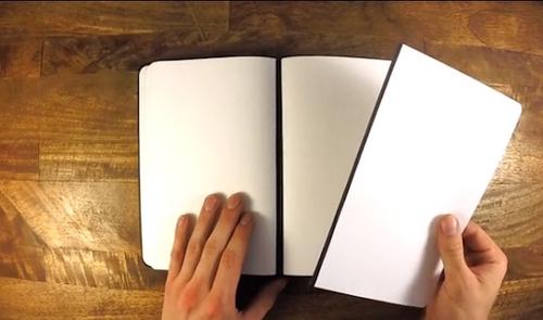 Інноваційний і утилітарний блокнот з магнітними сторінками (+ФОТО)