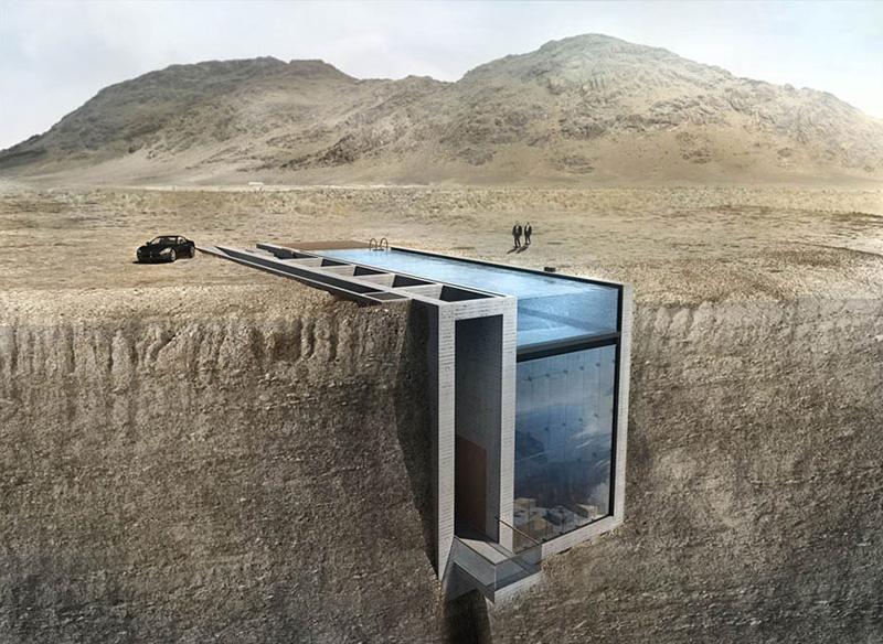 Вид на море з цього будинку в скелі приголомшить будь-кого (ФОТО)