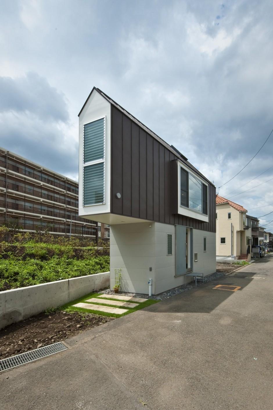 Міська архітектура: крихітний будинок площею 29 квадратних метрів (ФОТО)