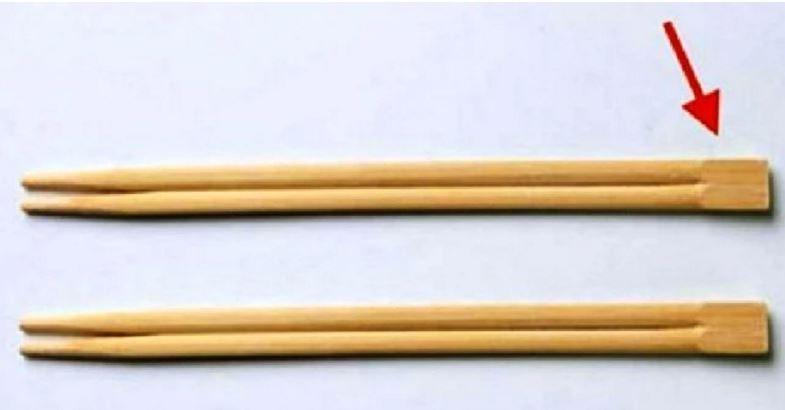 А вы знали, для чего нужна эта часть китайских палочек? Все гениальное — просто! (ФОТО)