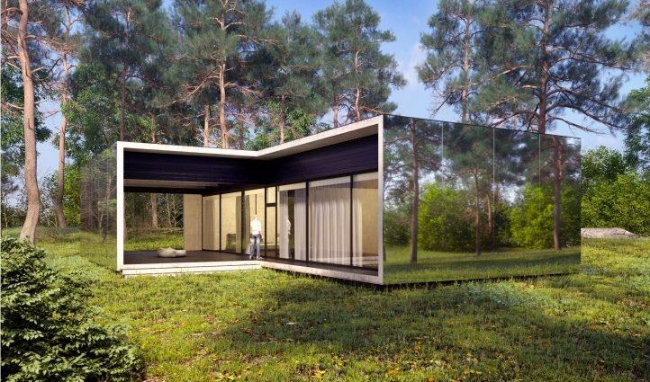 Український архітектор розробив дизайн будинку, який зводять за місяць