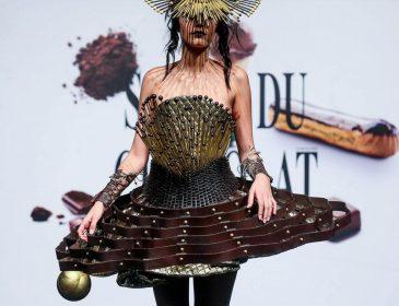 У Бельгії дизайнери показали смачну колекцію одягу з шоколаду