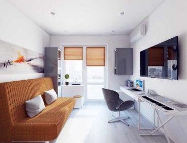"""Дизайн однокімнатної """"хрущовки"""": як з розумом використовувати 17 житлових квадратних метрів"""