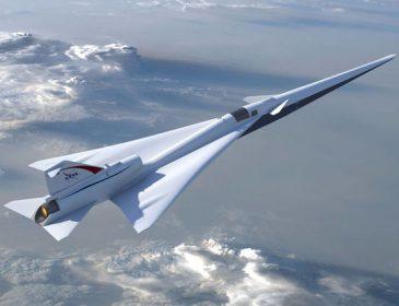 NASA розробило дизайн нового надшвидкого літака