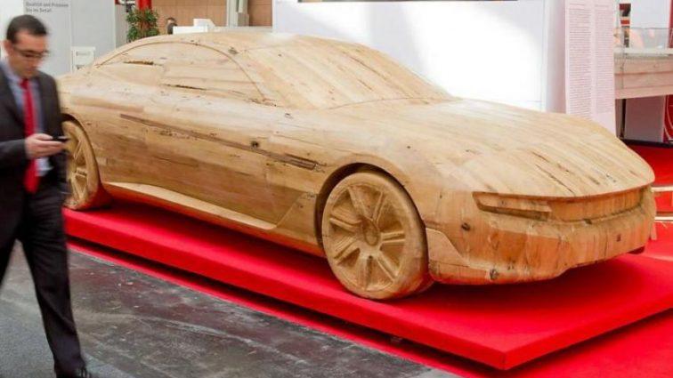 Японські вчені створять автомобіль з дерева
